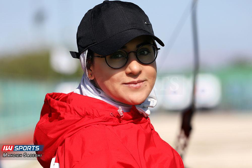 گزارش تصویری: همراه با زهرا نعمتی در اردوی تیم ملی تیراندازی با کمان در جزیره کیش