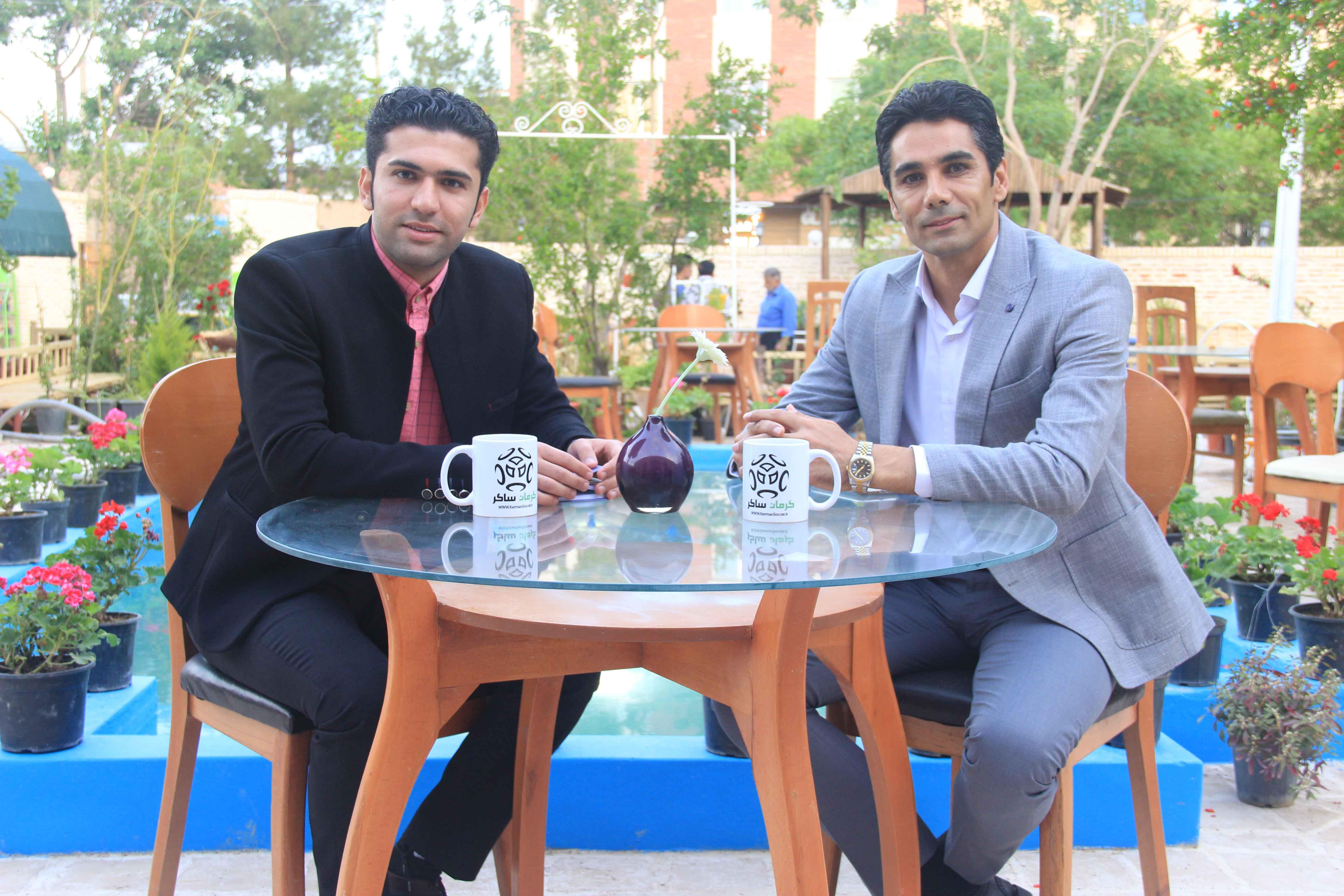 بخش اول/ گفتگوی جذاب و دیدنی کرمان ساکر با علی علیزاده معاون فنی باشگاه مس رفسنجان