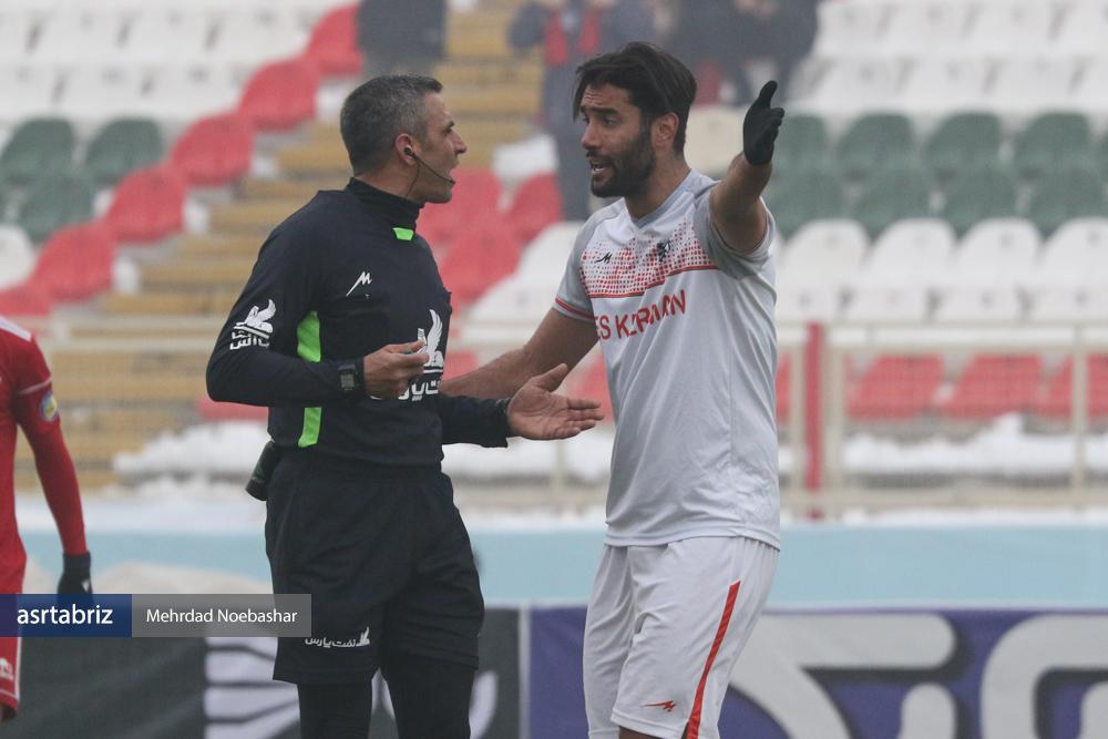 گزارش تصویری: مرحله یکچهارم نهایی جام حذفی فوتبال کشور (سری دوم)/ تراکتور تبریز - مس کرمان