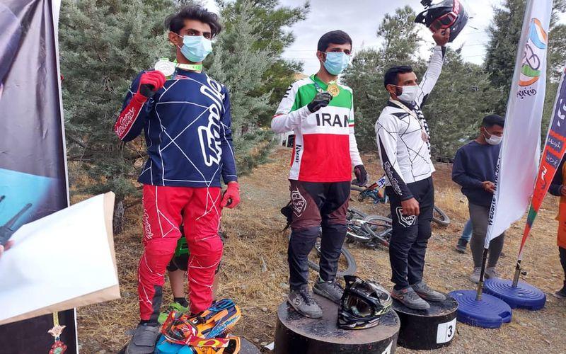 دو مدال با ارزش دوچرخه سواران کوهستان مس