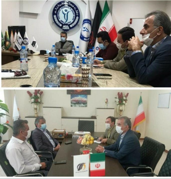 جلسه هماهنگی برگزاری مسابقات لیگ برتر و لیگ یک در سیرجان برگزار شد