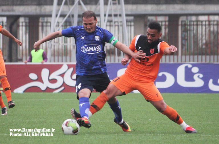 گزارش تصویری: هفته بیست و پنجم لیگ دسته یک فوتبال کشور/ داماش گیلان - مس رفسنجان