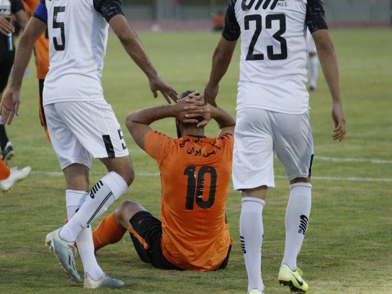 گزارش تصویری: هفته بیست و هفتم لیگ دسته یک فوتبال کشور/ مس کرمان - مس رفسنجان