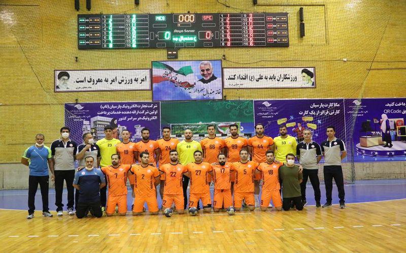 گزارش تصویری: دیدار هندبال مس کرمان با سپاهان اصفهان در رقابت های لیگ برتر