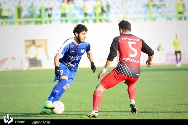 گزارش تصویری: هفته شانزدهم لیگ برتر فوتبال کشور/ نساجی مازندران - گلگهر سیرجان