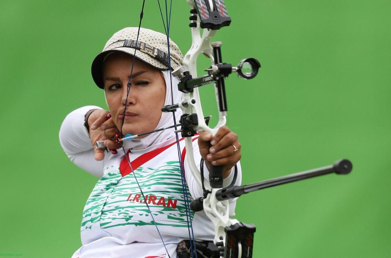 اردوی زهرا نعمتی در کمپ الیاف