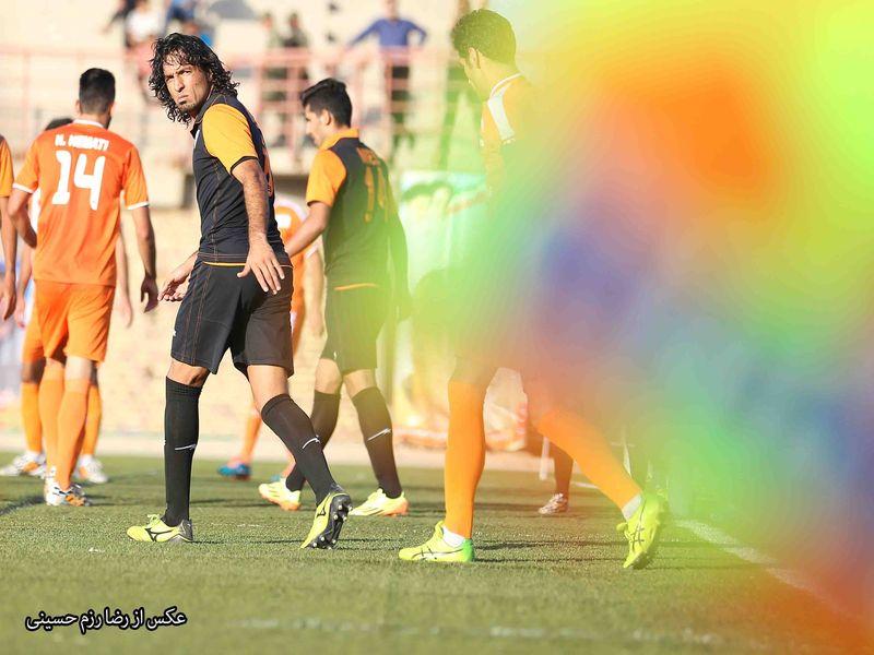 فرزاد حسینخانی رکورددار بازی در ال مسینو