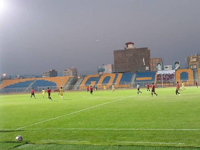 سیرجان میزبان بازی مس شهربابک و پاس همدان