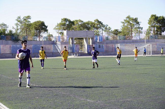 اجرای طرح استعدادیابی فوتبال در منطقه 5 استان