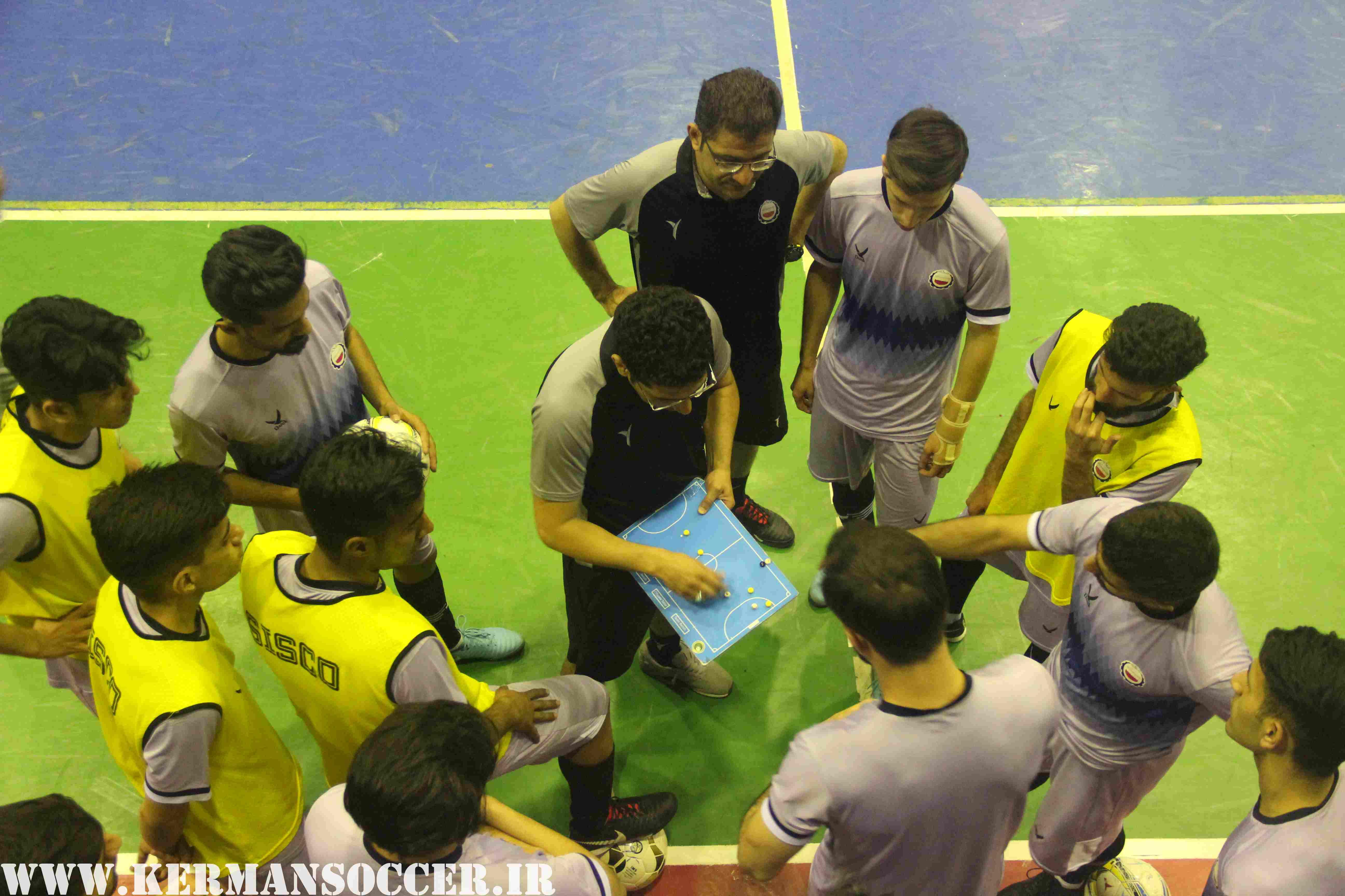گزارش تصویری: تمرینات آمادهسازی تیم فوتسال فولاد سیرجان ایرانیان پیش از مصاف با اسپیناس زنجان