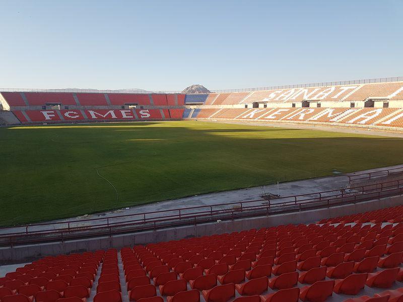 تصاویری که باشگاه مس از ورزشگاه اختصاصی منتشر کرد