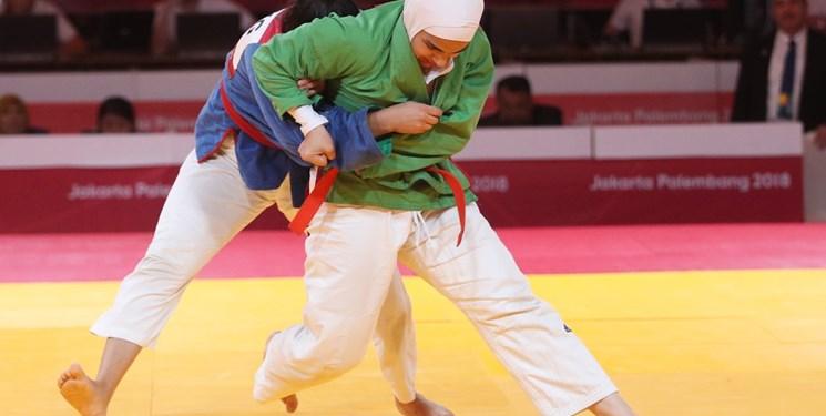 دختر کرمانی در اولین اردوی تیم ملی کوراش