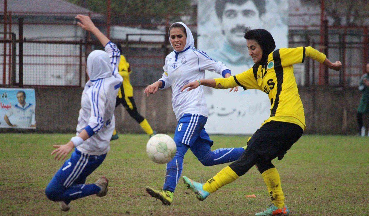 گزارش تصویری: هفته هفتم لیگ برتر فوتبال بانوان کشور/ ملوان بندرانزلی - شهرداری سیرجان