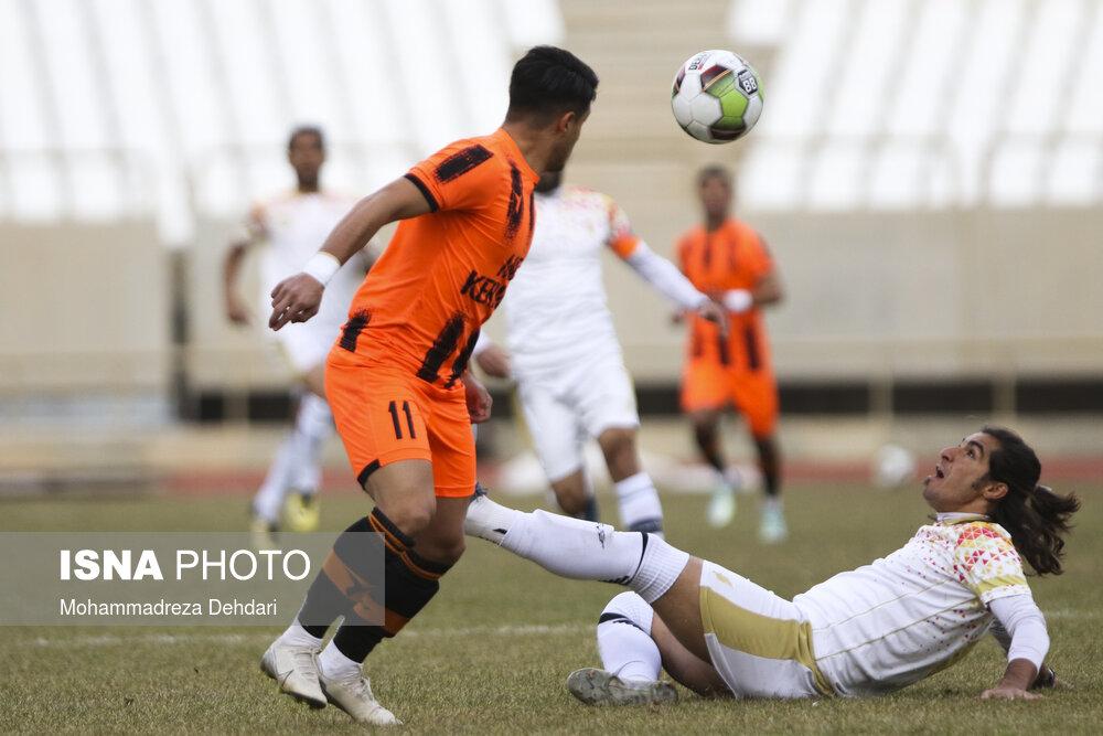 گزارش تصویری: هفته هشتم لیگ یک فوتبال کشور/ قشقایی شیراز - مس کرمان از نگاه دوربین محمدرضا دهداری