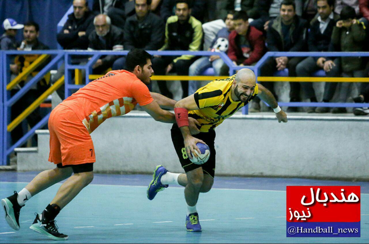 گزارش تصویری: هفته نهم لیگ برتر هندبال کشور/ سپاهان اصفهان - مس کرمان