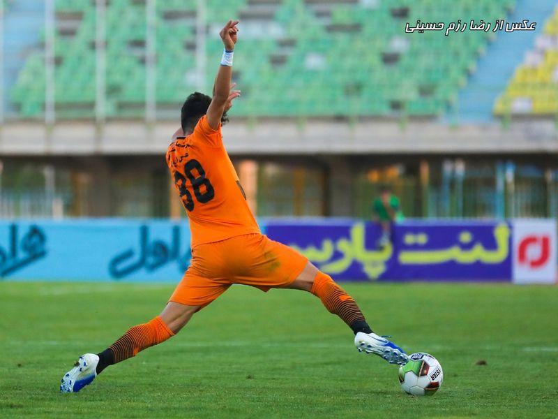 گزارش تصویری: هفته یازدهم لیگ دسته یک فوتبال کشور/ مس کرمان - بادران تهران