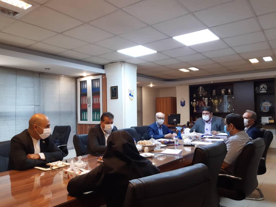 نشست هیات رییسه سازمان لیگ فوتسال برگزار شد