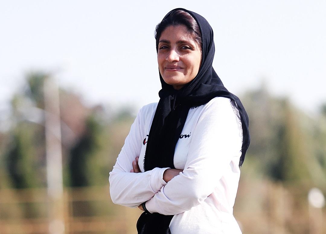 مرضیه جعفری بهترین مربی ایران شد