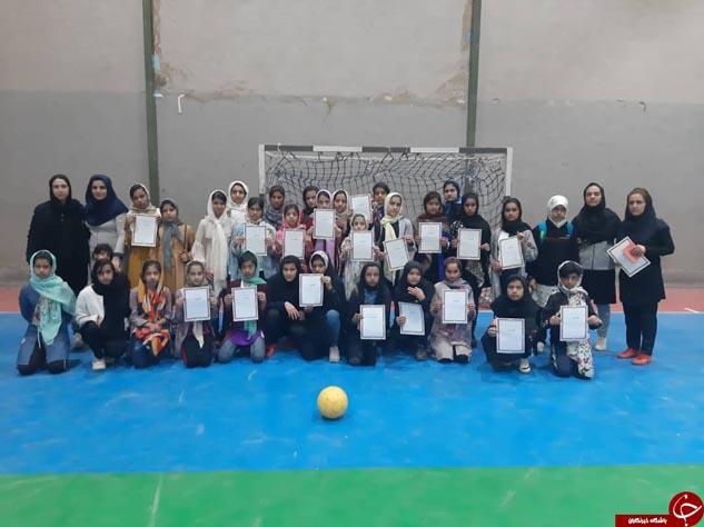 عنبرآباد قهرمان رقابتهای فوتسال زیر 13 سال بانوان جنوب کرمان