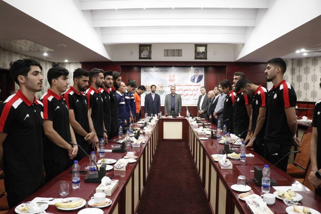 جلسه جداگانه سعدمحمدی با صدرنشینان لیگ یک