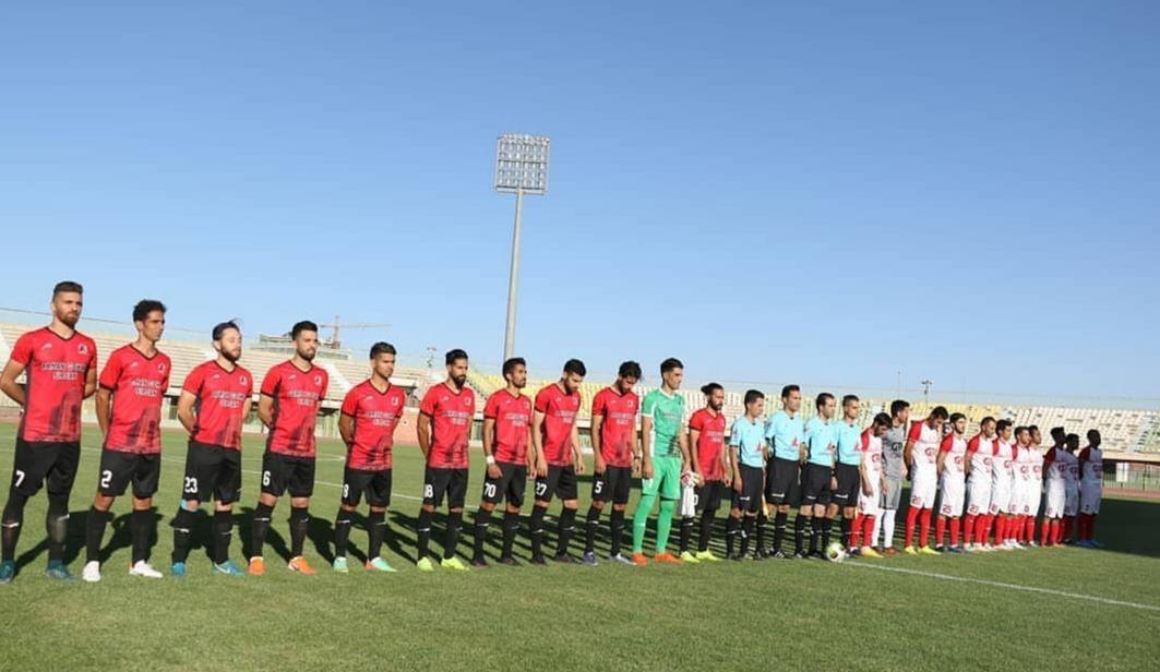 هفته ششم لیگ دسته یک فوتبال کشور/ خلاصه دیدار فجرسپاسی 0 - 0 آرمان گهر سیرجان