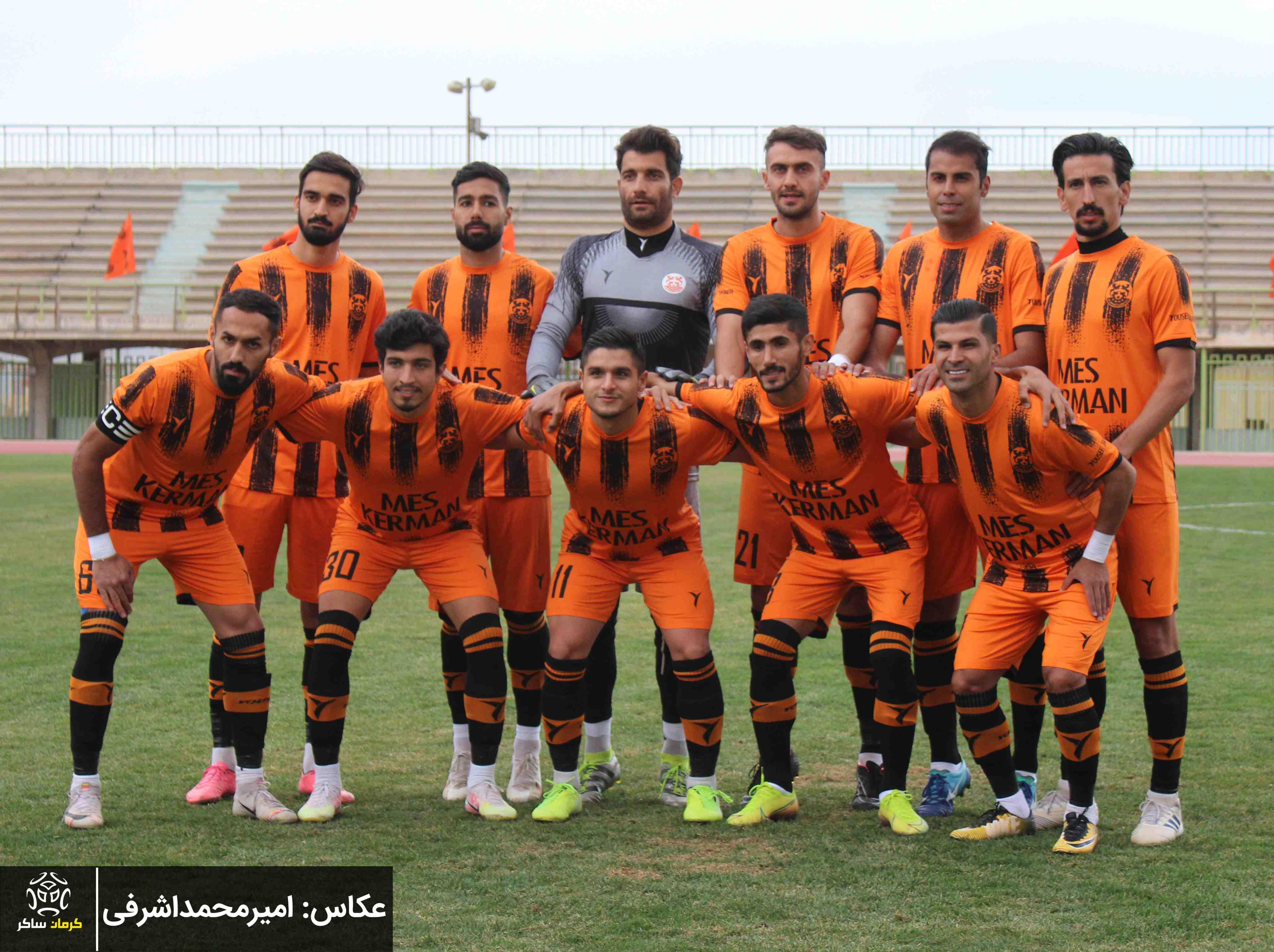 گزارش تصویری: هفته پانزدهم لیگ یک فوتبال کشور/مس کرمان- خیبر خرم آباد از دریچه دوربین امیرمحمد اشرفی