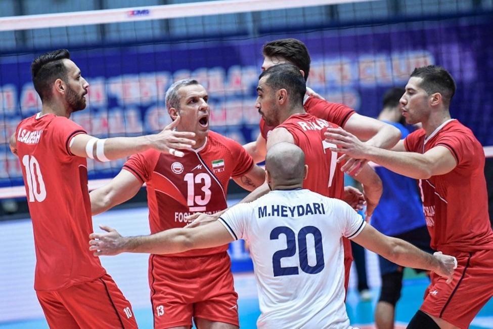 دومین برد فولاد سیرجان در والیبال آسیا