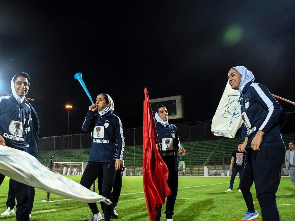 دختران بم در آستانه هفتمین قهرمانی