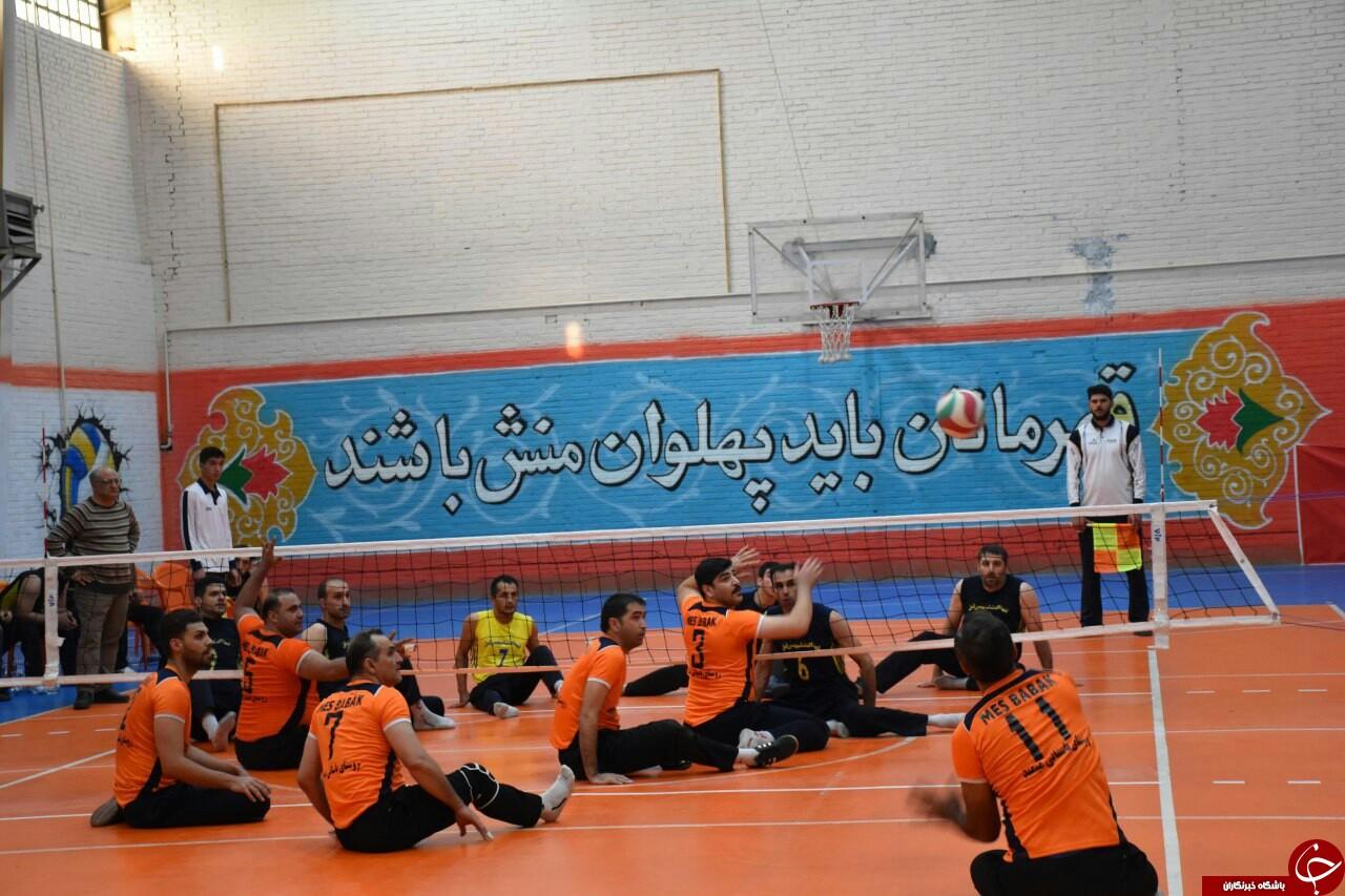 رسمی؛ والیبال نشسته مس شهربابک سوم لیگ شد