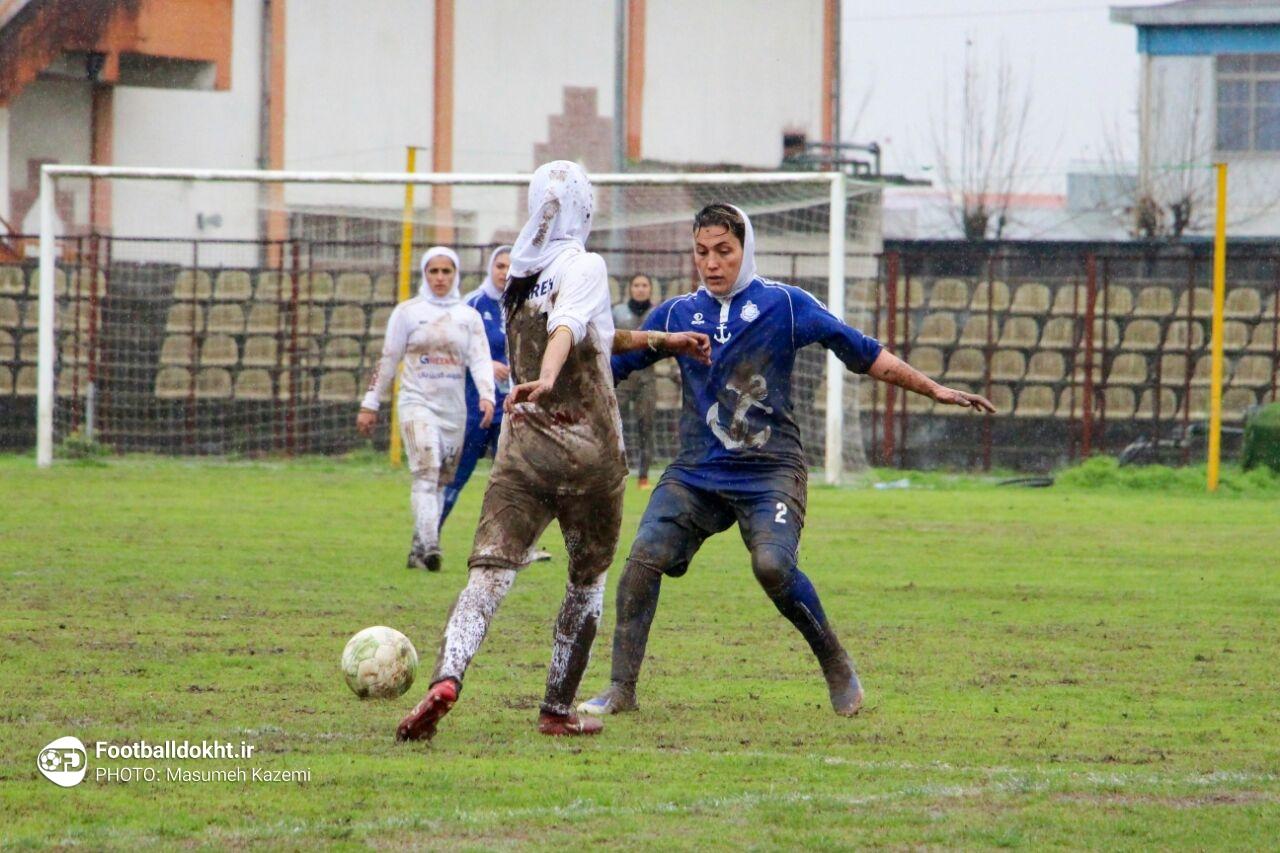 گزارش تصویری: هفته دوازدهم لیگ برتر فوتبال بانوان کشور/ ملوان بندرانزلی - شهرداری بم