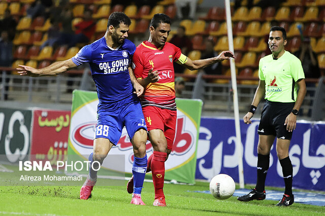 گزارش تصویری: هفته دوازدهم لیگ برتر فوتبال کشور/ فولاد خوزستان - گلگهر سیرجان