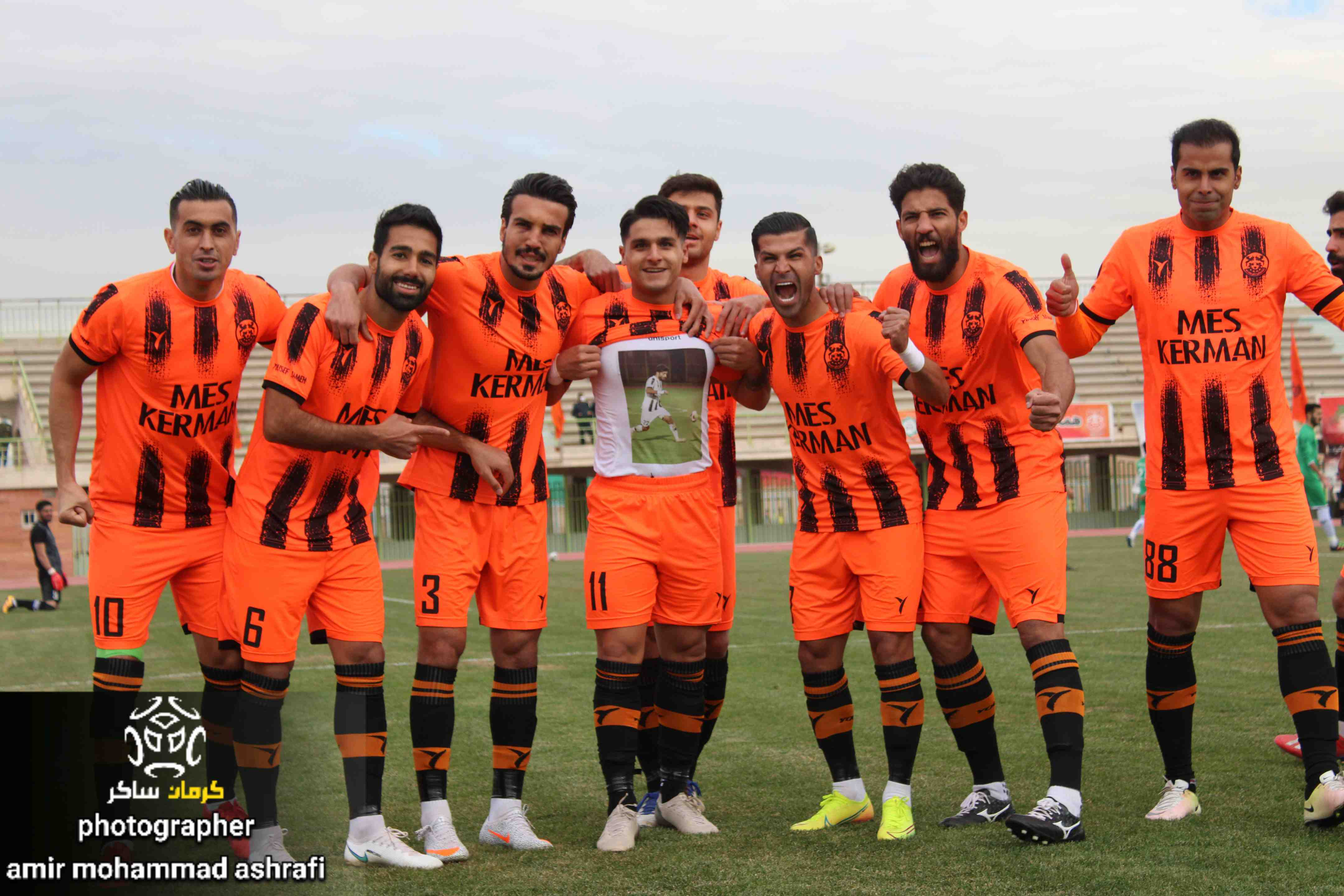 گزارش تصویری: هفته هفتم لیگ یک فوتبال کشور/مس کرمان- چوکا تالش از نگاه دوربین امیرمحمد اشرفی