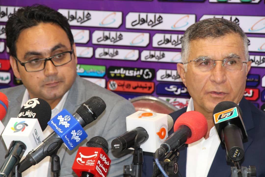 معوقه هفته هشتم لیگ برتر فوتبال کشور/ کنفرانس خبری پس از بازی شهر خودرو - گلگهر