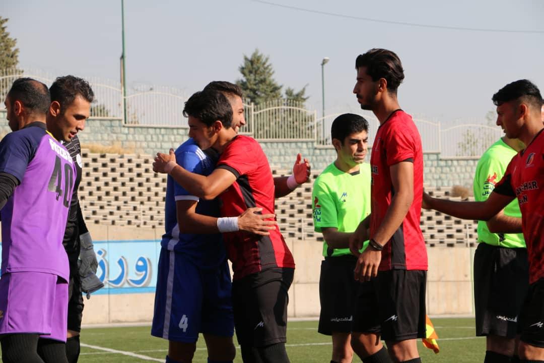 گزارش تصویری: هفته دوازدهم لیگ دسته یک فوتبال کشور/ نیروی زمینی تهران - آرمانگهر سیرجان