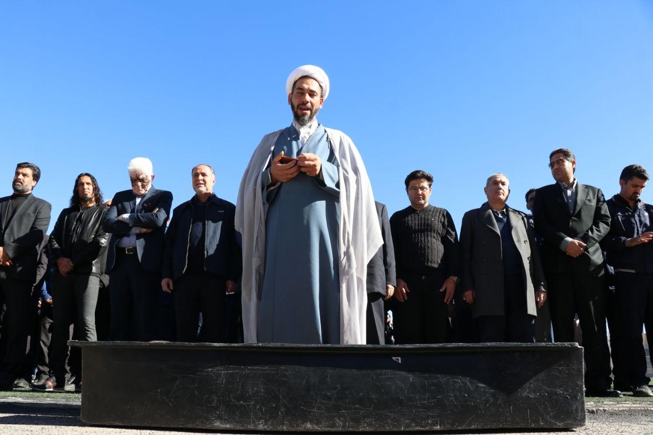 گزارش تصویری: مراسم تشییع و تدفین استاد جواد قلاجوری پیشکسوت ورزش و رسانه استان