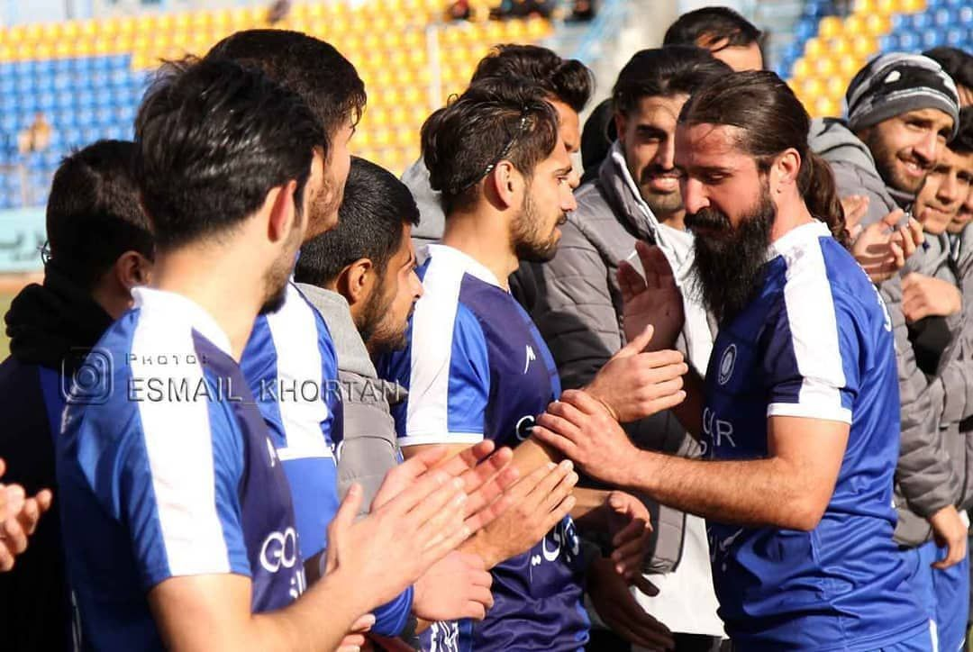 گزارش تصویری: خداحافظی حمزه مظفری کاپیتان با سابقه باشگاه گلگهر سیرجان از دنیای فوتبال