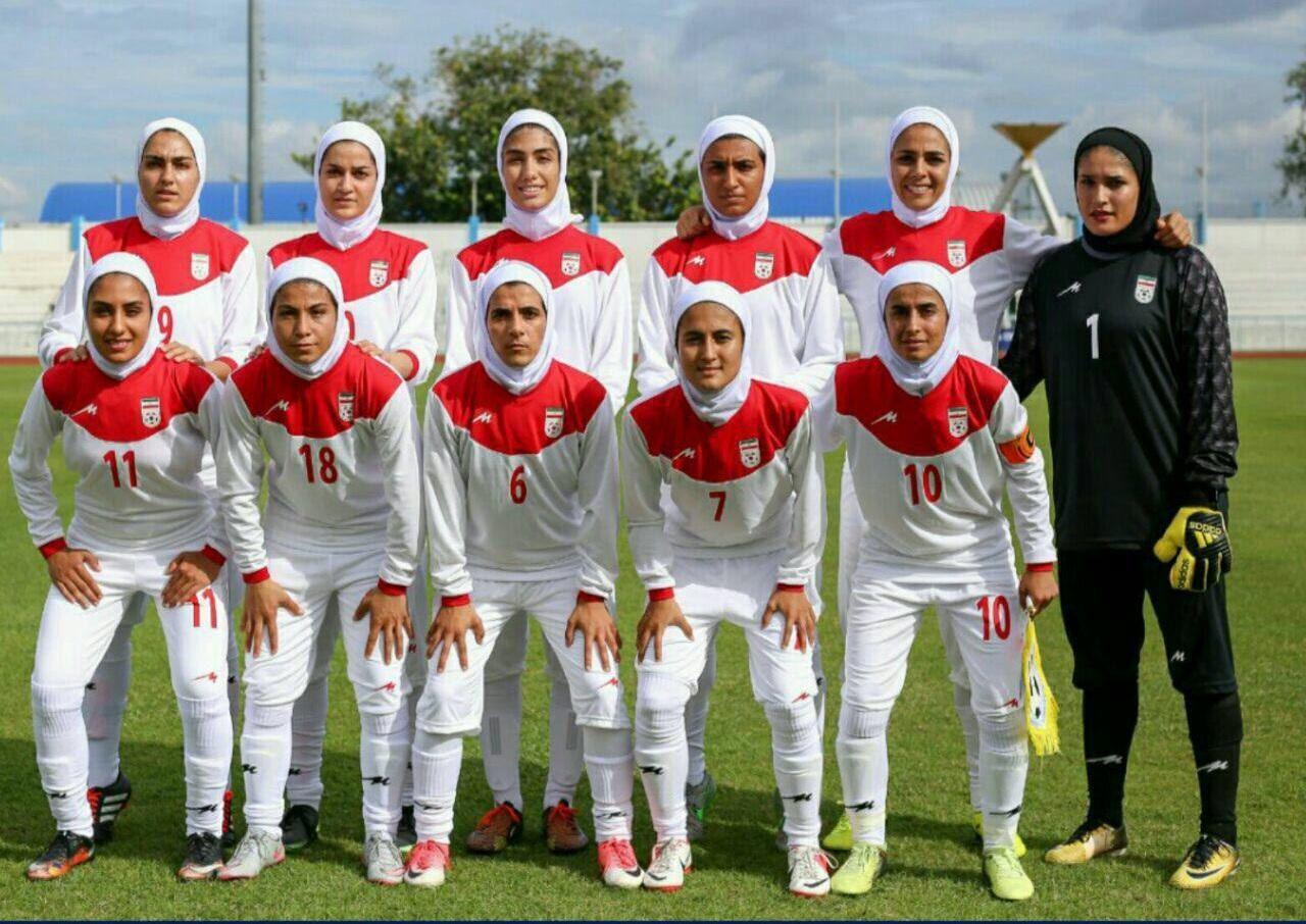 گزارشی از تمرینات تیم ملی فوتبال بانوان پیش از دیدارهای دوستانه مقابل بلاروس + صحبت های مریم جهان نجاتی