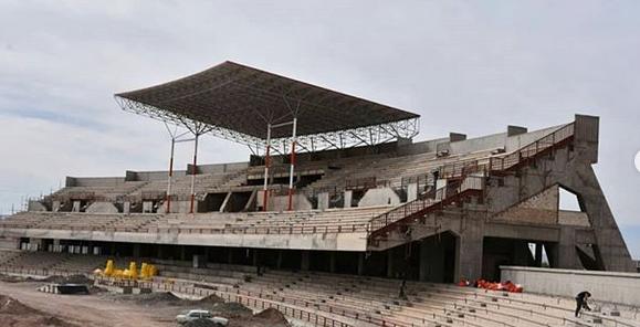 سرانجام رونمایی از ورزشگاهی که در رفسنجان ساخته میشود(عکس)