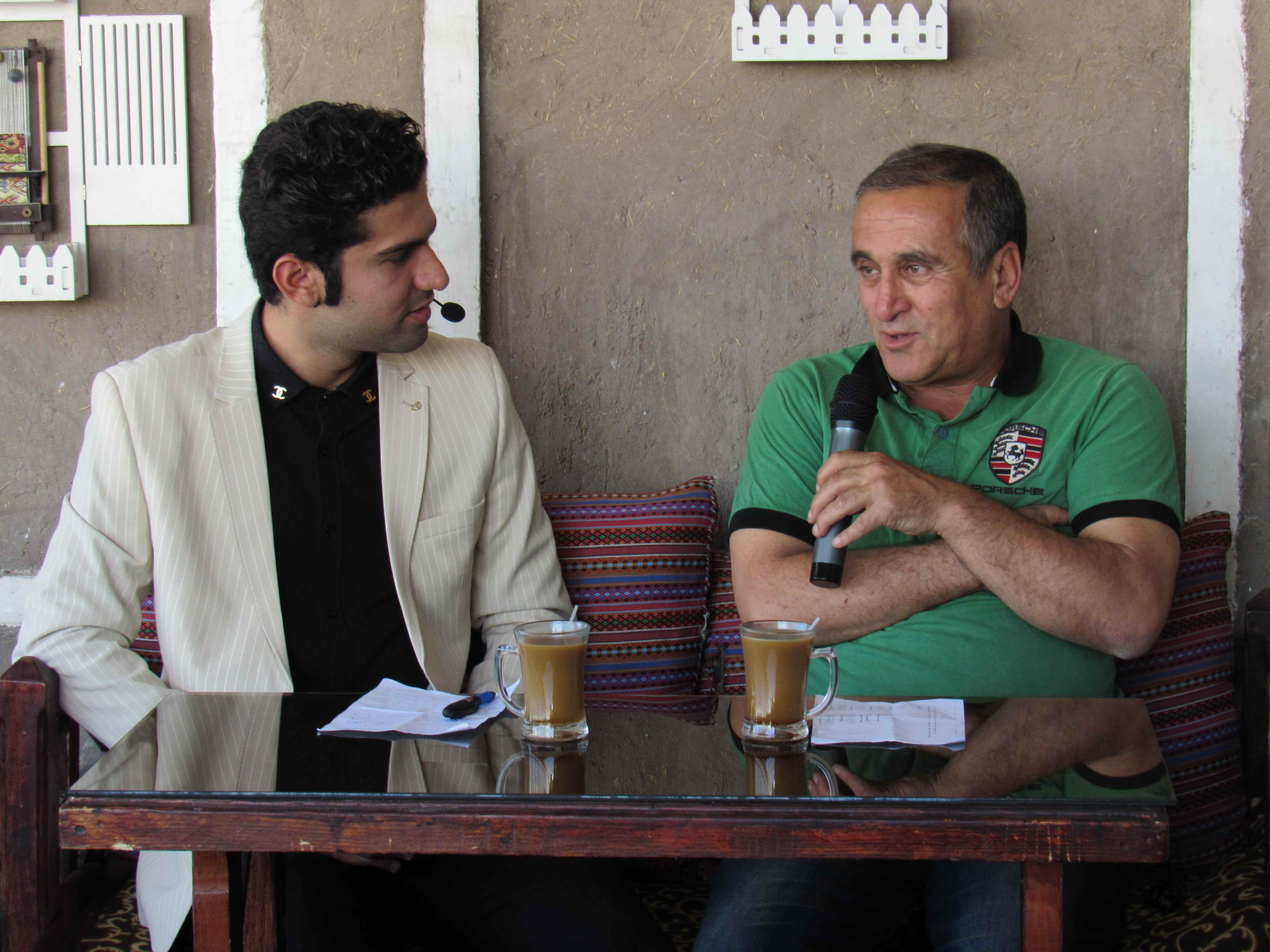 عیدانه فوتبالی/ گفتگوی دیدنی کرمان ساکر با مسعود بهرامپور سرمربی فولاد بردسیر
