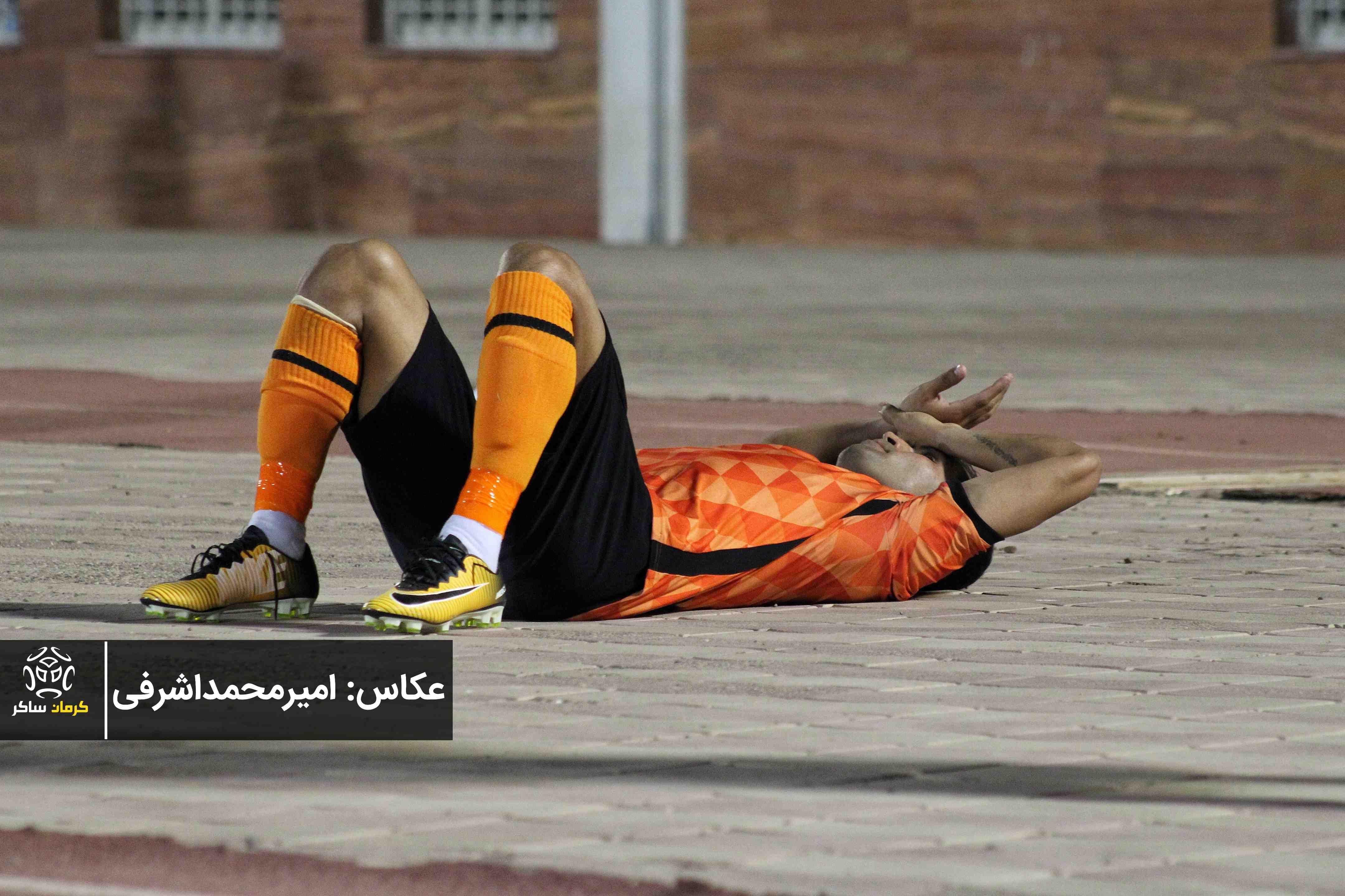 گزارش تصویری: هفته سی و سوم لیگ دسته اول فوتبال کشور/مس کرمان - هوادار تهران از نگاه دوربین امیرمحمداشرفی