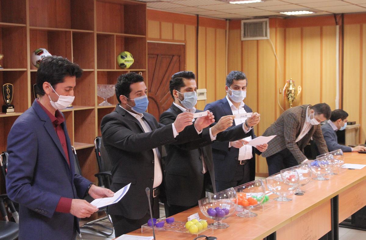 برگزاری قرعه کشی لیگ دسته سوم / گروه بندی تیم ها مشخص شد