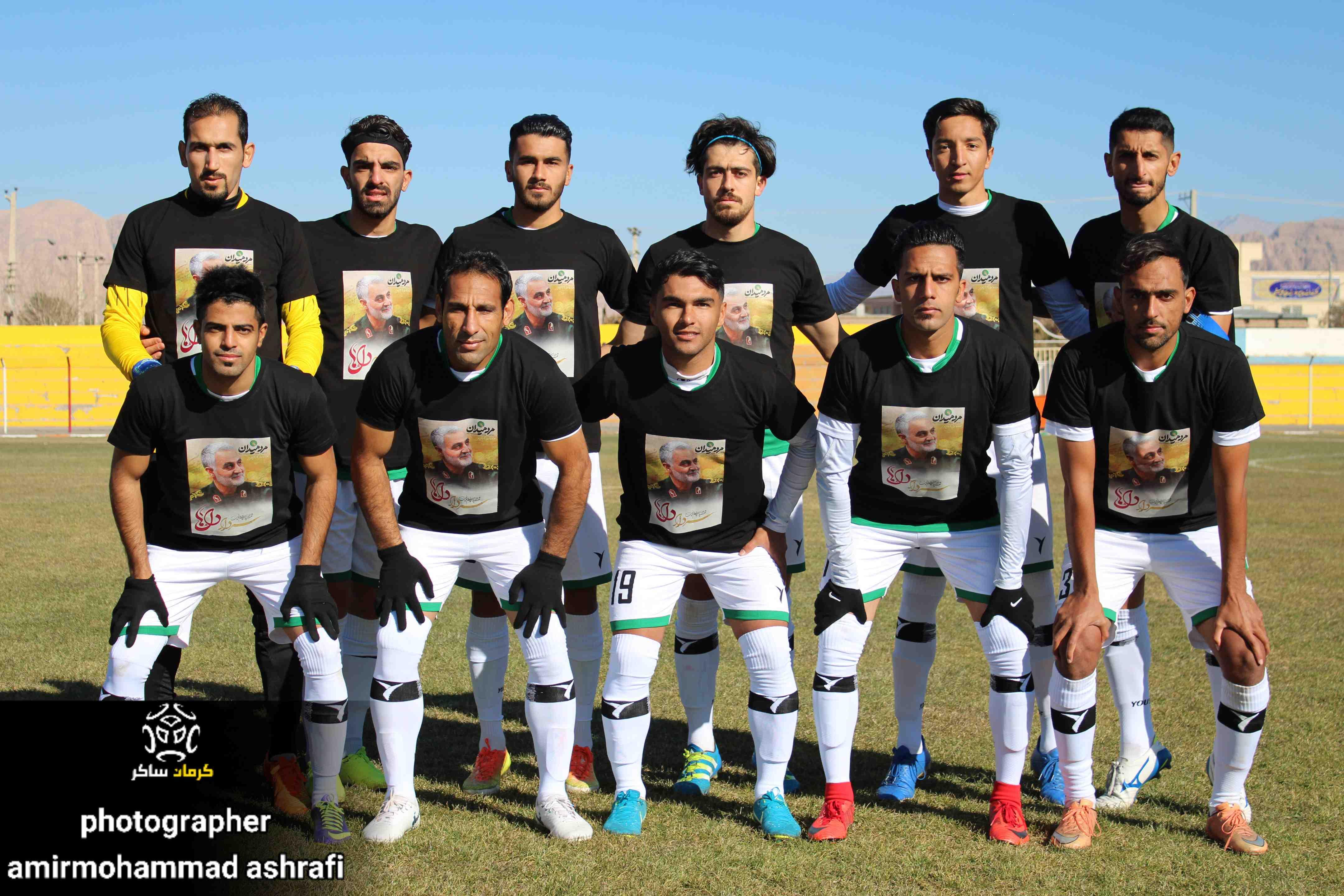گزارش تصویری: هفته اول لیگ دسته سوم فوتبال کشور/مشیز کرمان - بستک هرمزگان از دریچه دوربین امیرمحمداشرفی