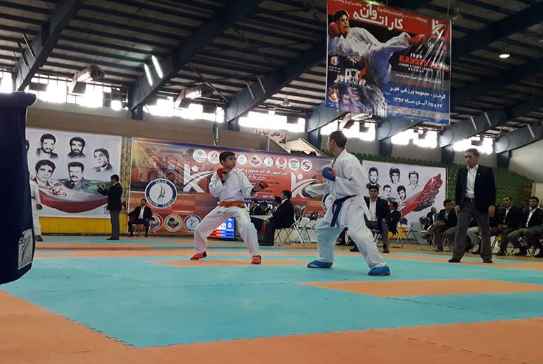 قهرمانی پسران کرمان در کاراته قهرمانی کشور