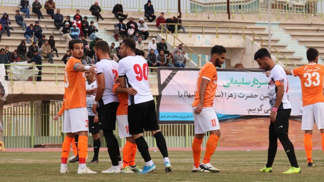 گزارش تصویری: هفته بیستم لیگ دسته یک فوتبال کشور (سری چهارم)/ مس کرمان - آرمانگهر سیرجان