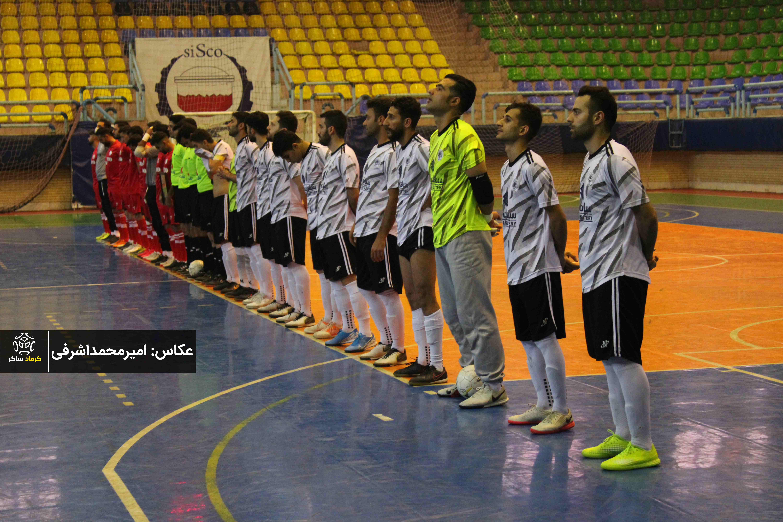 گزارش تصویری: هفته اول لیگ دسته اول فوتسال کشور/ فولادسیرجان ایرانیان - جندی شاپور دزفول از نگاه دوربین امیرمحمداشرفی