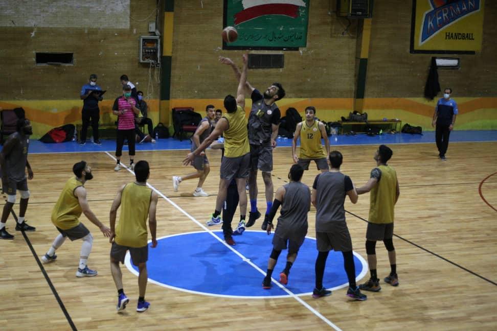 گزارش تصویری تمرینات تیم بسکتبال مس کرمان