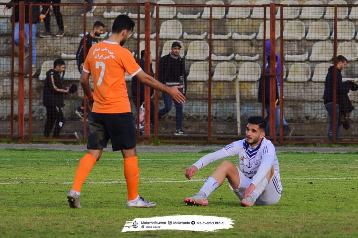 گزارش تصویری: هفته بیست و سوم لیگ دسته یک فوتبال کشور/ ملوان بندرانزلی - مس کرمان