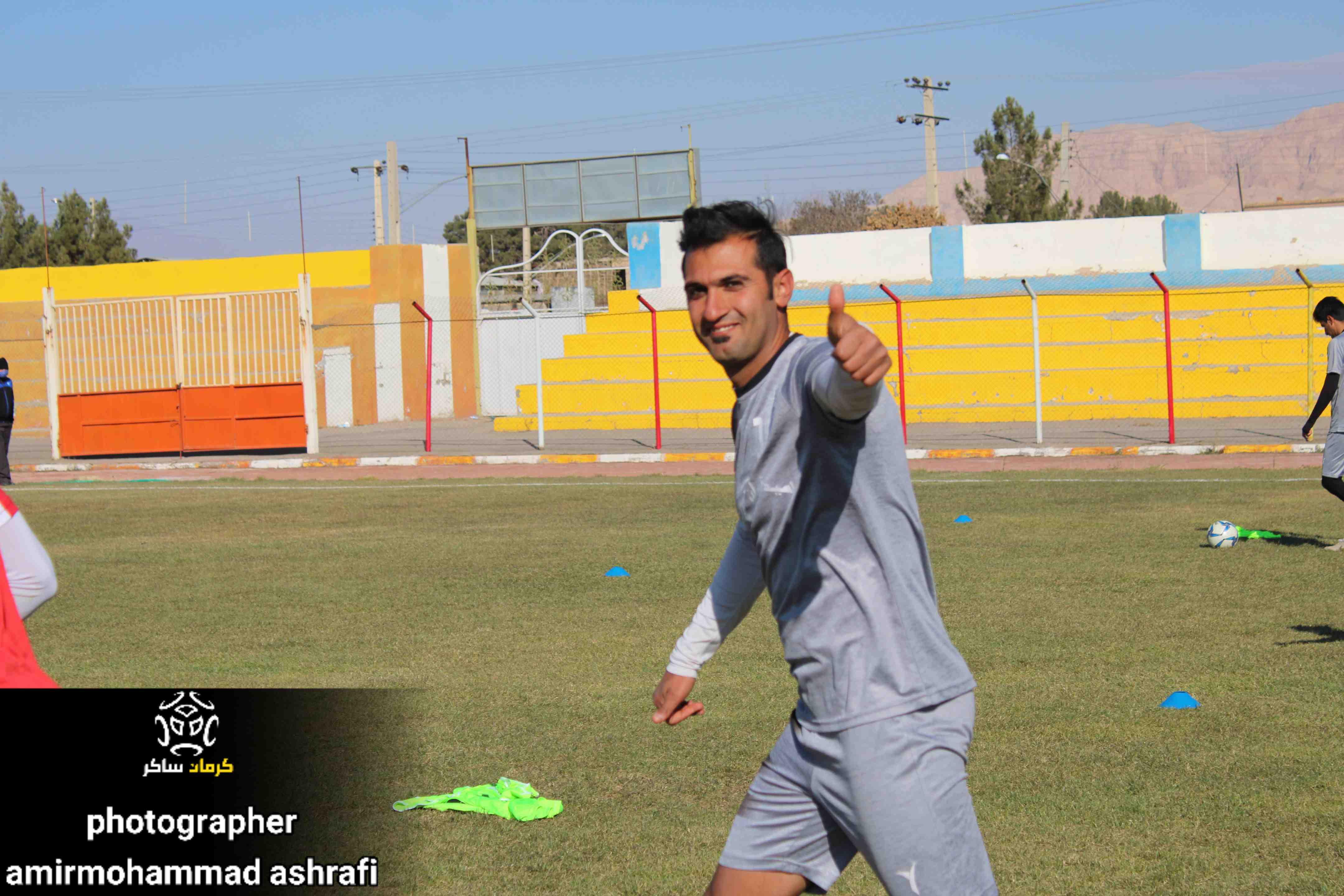 گزارش تصویری / آخرین تمرین تیم فوتبال مشیز کرمان پیش از دیدار نخست خود در لیگ دسته سوم از دریچه دوربین امیرمحمد اشرفی