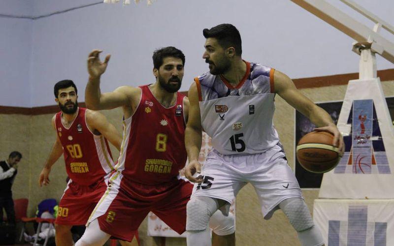 گزارش تصویری: هفته بیست و سوم لیگ برتر بسکتبال کشور/ مس کرمان - شهرداری گرگان